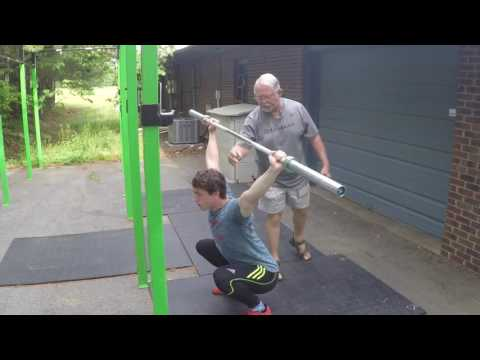 The Overhead Squat with Don McCauley