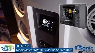 JL Audio MediaMaster MM100S Marine Source Unit | CES 2017 thumbnail