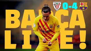 CHAMPIONS!!  🏆🏆 BARÇA LIVE: COPA DEL REY FINAL ATHLETIC BILBAO 0 - BARÇA 4 | Warm up & Match Center