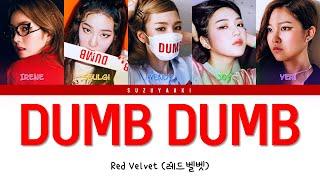 "Red Velvet (레드벨벳) – ""Dumb Dumb"" Lyrics [Color Coded Lyrics H…"