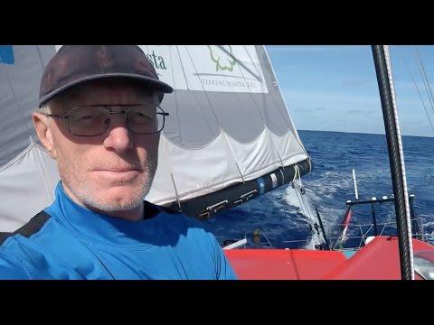 SOH 77 Nándor Fa video message, Vendée Globe 2016-17 23th Nov. Southern Atlantic ocean