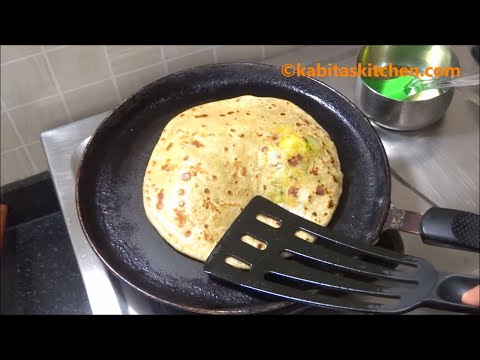 Aloo Paratha Recipe-4 Ways to Make Perfect Aloo Paratha-Aloo Paratha Step by Step-Aloo ke Parathe