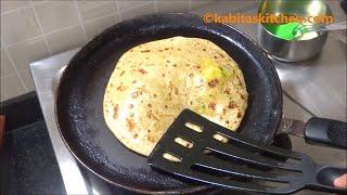Aloo Paratha Recipe-4 Ways to Make Perfect Aloo Paratha-Aloo Paratha Step by Step-Aloo ke Parathe
