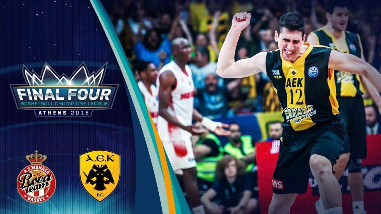AS Monaco v AEK - Final - Highlights - Final Four 2018