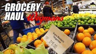 Grocery Haul   Wegmans