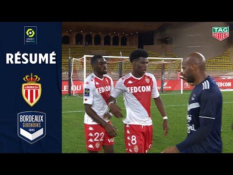 AS MONACO - FC GIRONDINS DE BORDEAUX (4 - 0) - Résumé - (ASM - GdB) / 2020-2021