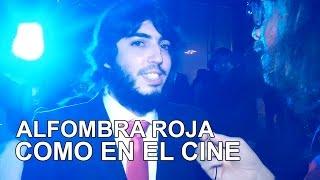 'Como en el cine': Alfombra roja de la película