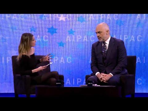 Prime Minister of Albania Edi Rama Interview