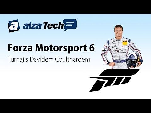 Reportáž: Forza Motorsport 6 s Davidem Coulthardem! - AlzaTech #197