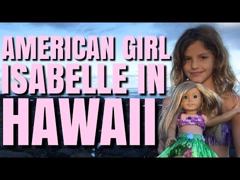 American Girl In Hawaii With Dolphins And Turtles