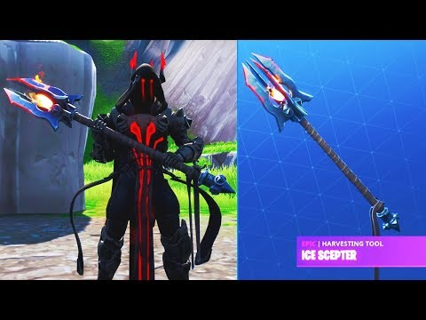 """THE ICE KING *TIER 100* PICKAXE UNLOCK! """"ICE SCEPTER"""" The Ice King Challenges Fortnite Season 7"""