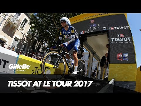 Tour De France Photo Finishes with Tissot Timing | Gillette World Sport