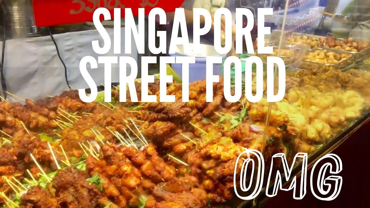 Singapore Pasar Malam : A Singaporean street food - YouTube