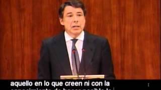 Ignacio González sobre Esperanza Aguirre