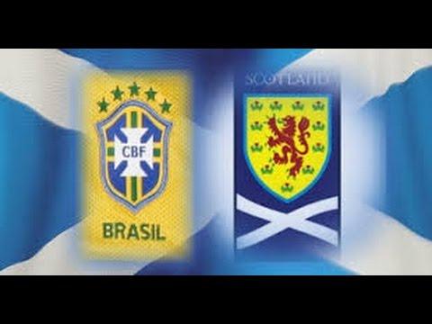 Minicopa 1972: Brasil x Escócia(Minicopa 1972: Brazil vs Scotland)