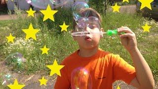 Семейный влог: Мыльные пузыри / Автомобильный холодильник / Обзор на помаду и лак. Часть 1