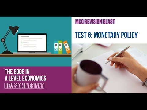 Test 6 A Level Economics MCQ Revision On Economics