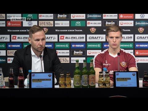 15. Spieltag | SGD - KSV | Pressekonferenz vor dem Spiel
