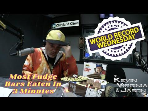 World Record Wednesday - Eating Fudge Bars