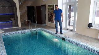 видео Строительство бассейна в собственном доме