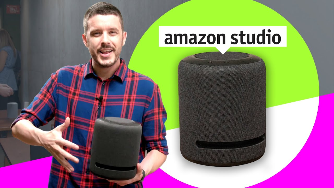Amazon's high-end Echo Studio smart speaker hands-on first impressions