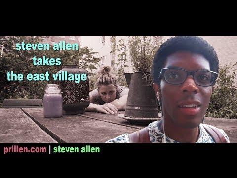 Steven Allen Takes The East Village ft. Christine Hauer | 28 June 2017