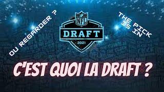C'est quoi la draft ? Le foot us de A à Z