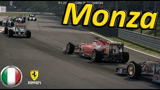 F1 2014 Game Monza 100% Race Italy: Fernando Alonso