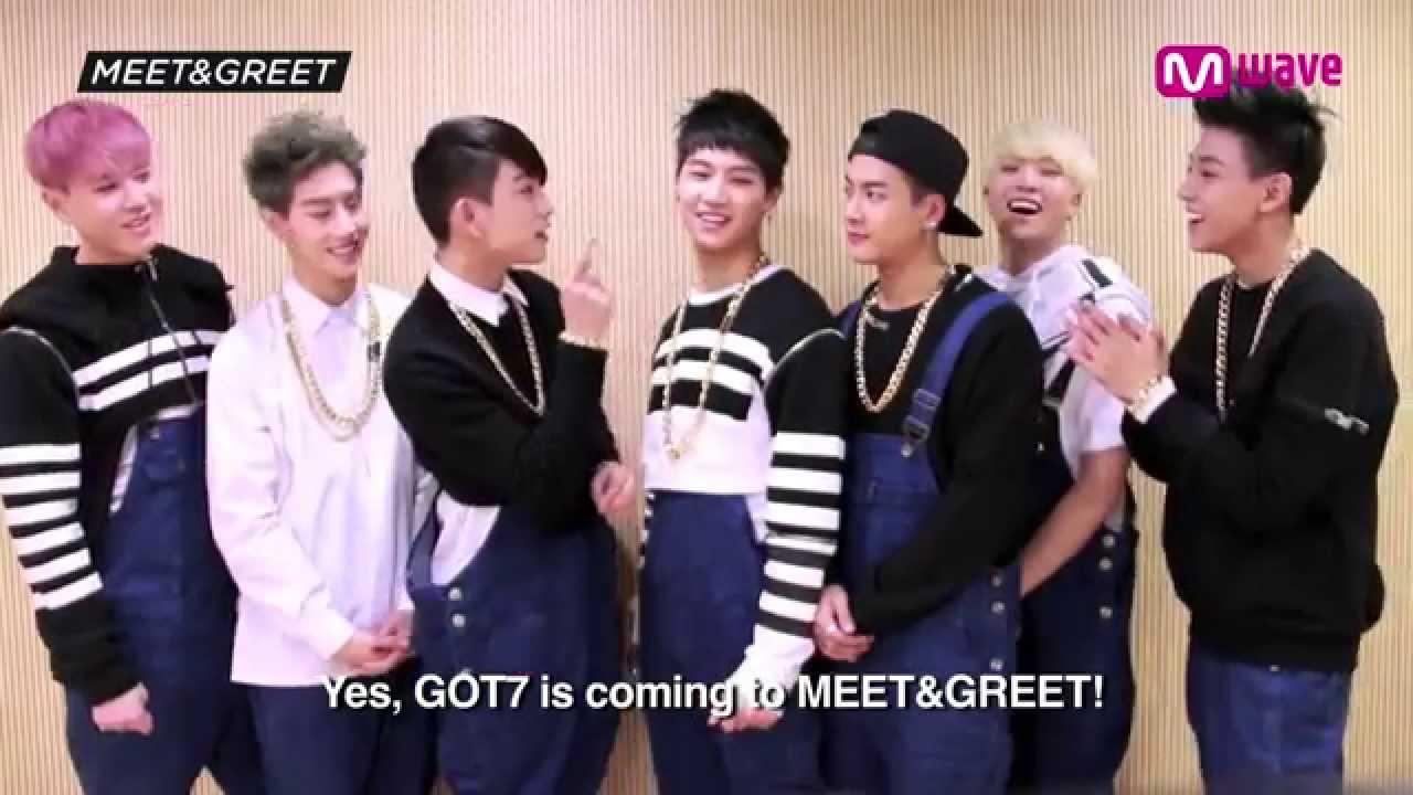 got7 meet greet on mwave electronics