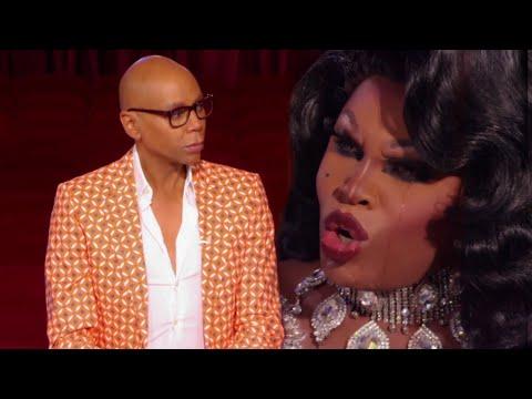 Asia OHara vs RuPaul  Season 10 Reunited