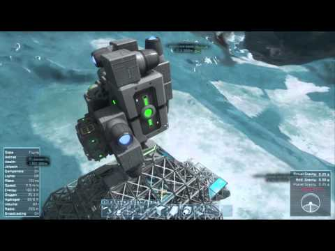 Space engineers season 2 episode 8 (Moving hardware and getting ready for space base)