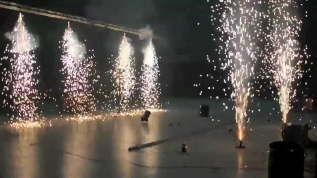 Stage Pyrotechnics Course At Backstage Academy Youtube