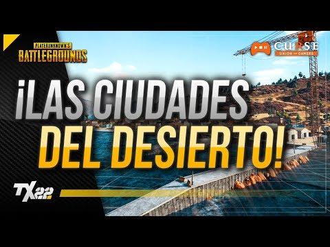 MAPA DESIERTO: IMÁGENES Y CIUDADES | PUBG en Español