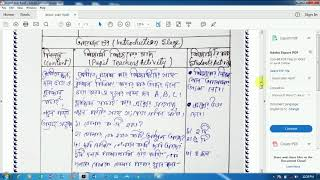 Wba : wba 512.1 lesson plan #4 in bengali pdf download l math I nios deled