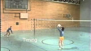 Volleyball Technik Schmetterschlag