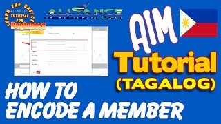 AIM GLOBAL - PAANO MAG ENCODE NG MEMBER-TUTORIAL(NEW WEBPAGE)