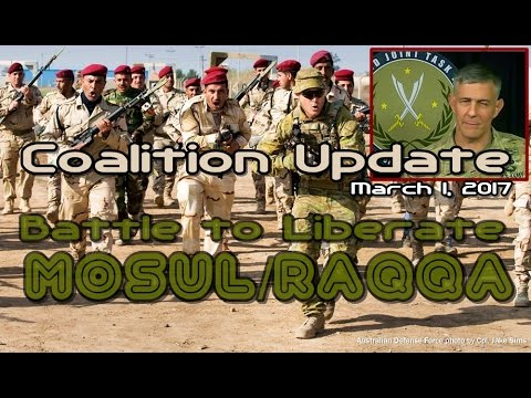 NATO w/CC: 3-2-17. MOSUL/RAQQA. Gen. Townsend Discuses Ops Update & Trump's New Exec. Orders.