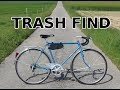 Trash pile road/city bike restoration and Orfos bike lights