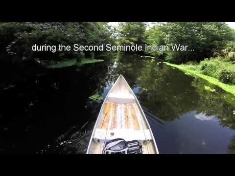 Loxahatchee river canoe trip part 1