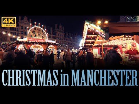 CHRISTMAS In MANCHESTER | CHRISTMAS 2018 | 4K | CHRISTMAS MARKET