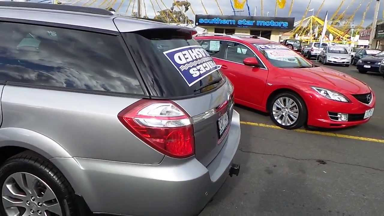Used 2008 Subaru Outback 3 0r For Sale Car City Ringwood Victoria