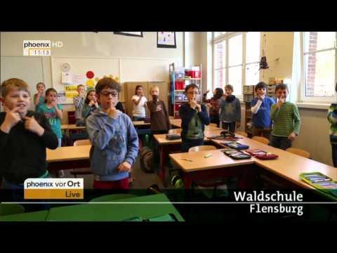 Verleihung des Deutschen Schulpreises 2015 mit Rede von Angela Merkel am 10.06.2015