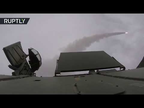 200 anti-aircraft gunners shoot down missiles in Russian military drills