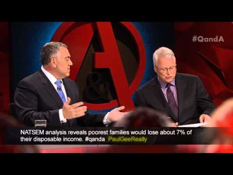 Q&A - Joe Hockey on the Tradies vs Ladies Budget