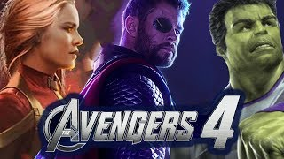 Avengers 4 NEW *LEAKED* TRAILER DESCRIPTION