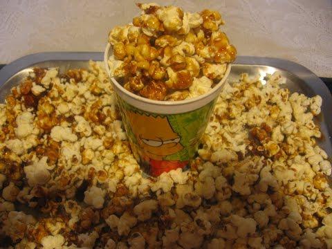 Como hacer palomitas caramelizdas como las del cine - Como hacer palomitas de caramelo caseras ...