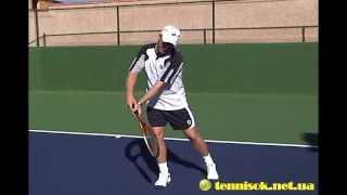 Pro Tennis Lessons - James Jensen - - backhand
