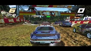 Porsche 911 Paris-Dakar - SHOX Rally Racing Game (PS2)