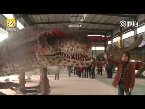 """China's """"Jurassic Park"""" built in Sichuan"""