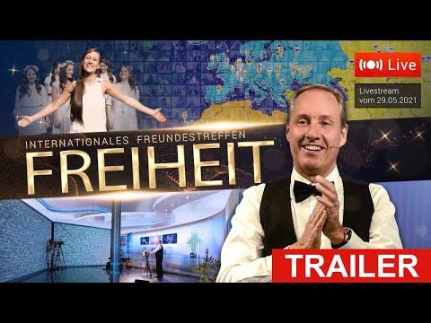 FREIHEIT - TRAILER zum Internationalen Freundestreffen 2021 (mit Ivo Sasek)   www.kla.tv/19098